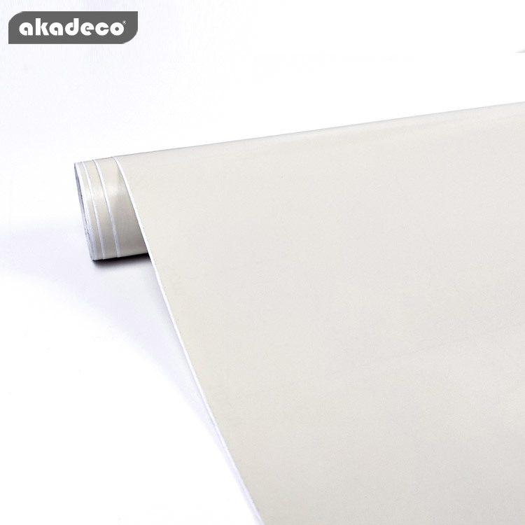 akadeco solid plain color contact paper  bedroom living room decoration