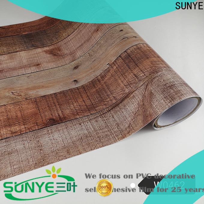 SUNYE effective wood grain contact paper for-sale loft