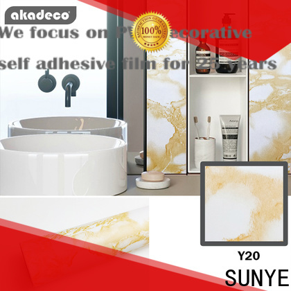 SUNYE marble surface sticker wholesale for balcony
