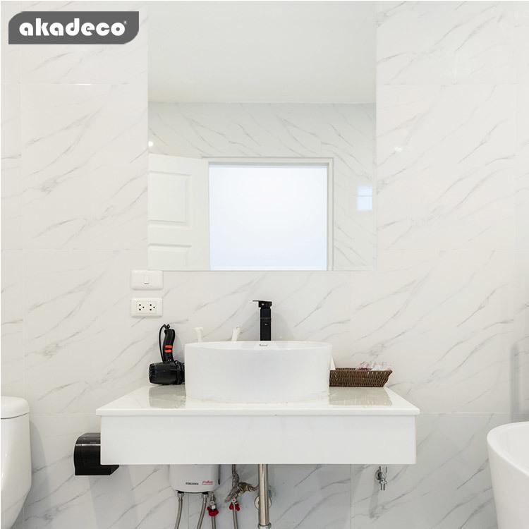 akadeco PET self adhesive mirror sticker roll