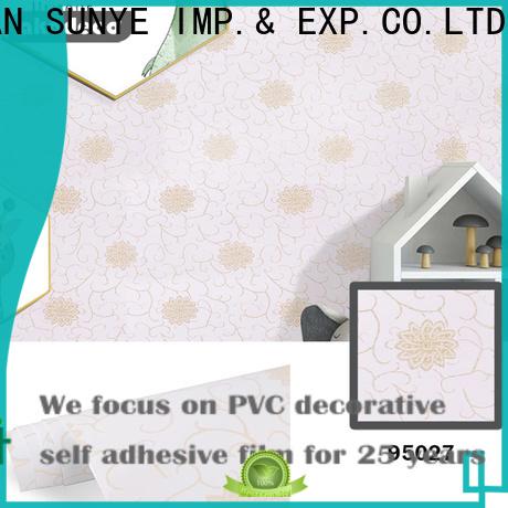 SUNYE top pvc wallpaper online factory for workforce