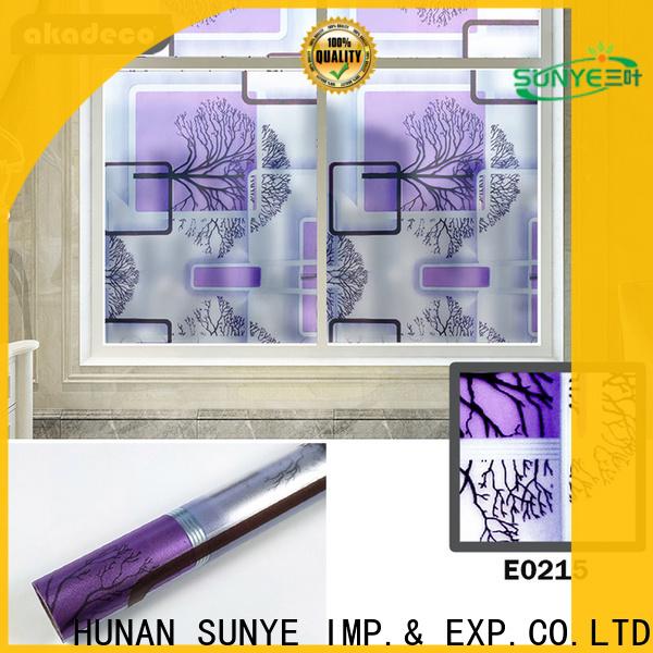 SUNYE factory price vinyl window film best manufacturer bulk buy