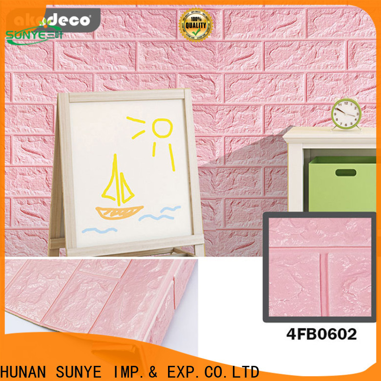 latest square foam tiles with good price for hotel