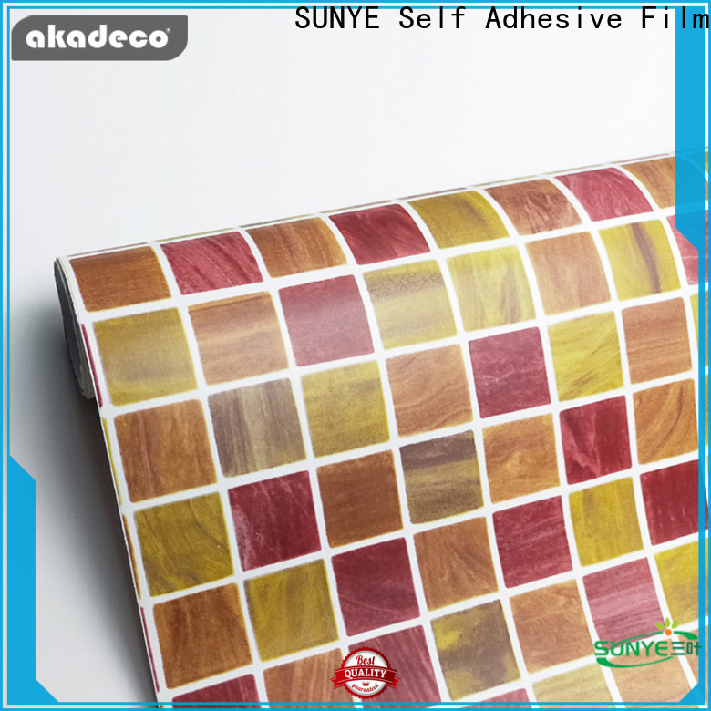 high quality pvc decorative film from China for bedroom