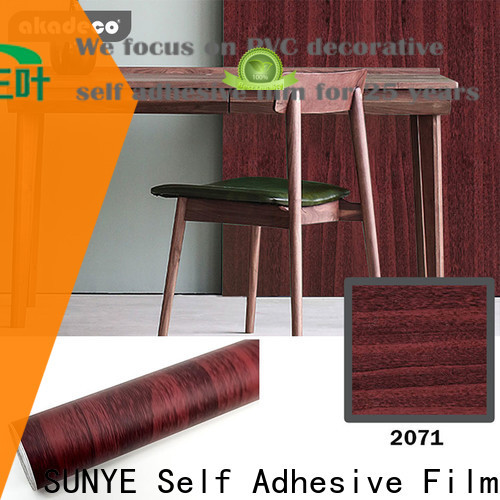 SUNYE wood effect paper manufacturer for dining room