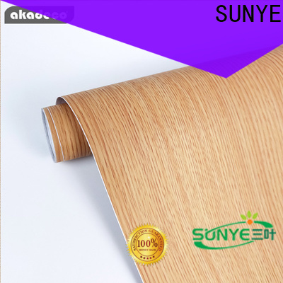 SUNYE pvc wood ceiling supply for electrical room