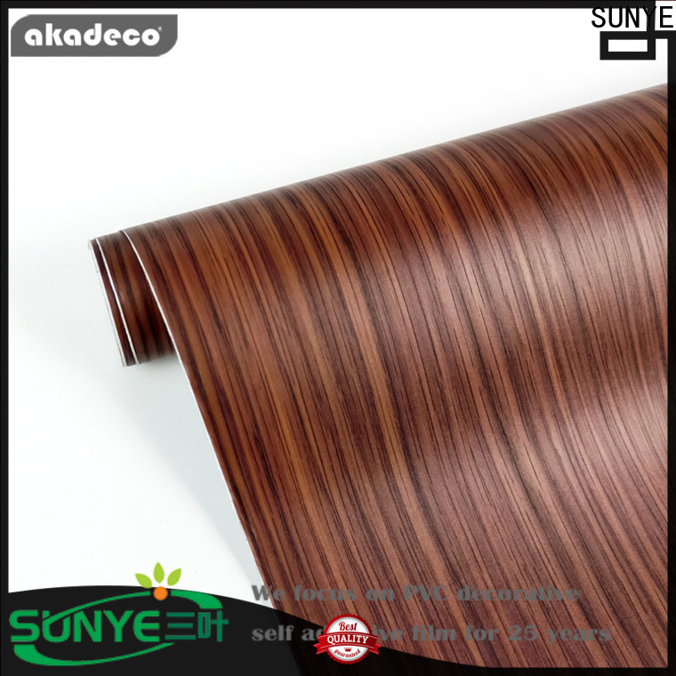 SUNYE wood panel effect wallpaper company bulk production