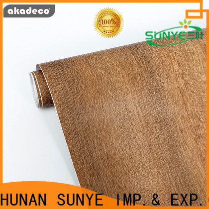 SUNYE wood style wallpaper from China for sale