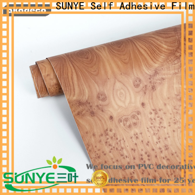 practical wood look contact from China for secretary room
