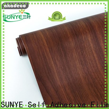 top selling wood look adhesive paper from China bulk production