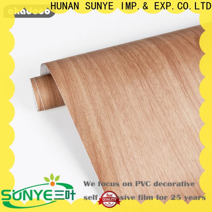 SUNYE wood grain look contact paper from China bulk buy