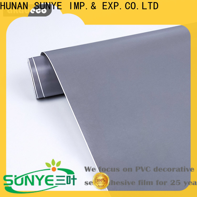 SUNYE high-quality solid color removable wallpaper from China for control room