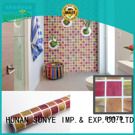 high-quality PVC PRINTED SERIES ADHESIVE FILM inquire now for canteen