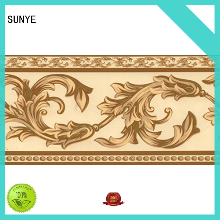 SUNYE inexpensive wall border stickers long-term-use for living room