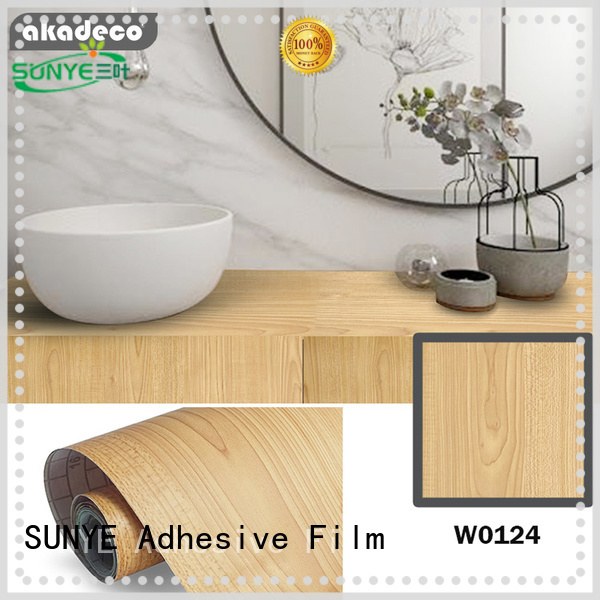 SUNYE self adhesive wood best supplier for dining room