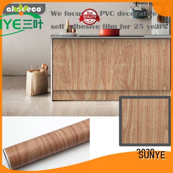 top vinyl wrap wood effect directly sale for workshop