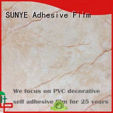 SUNYE self adhesive pvc flooring with good price for bedroom