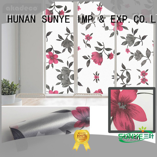 SUNYE window film with adhesive inquire now for canteen