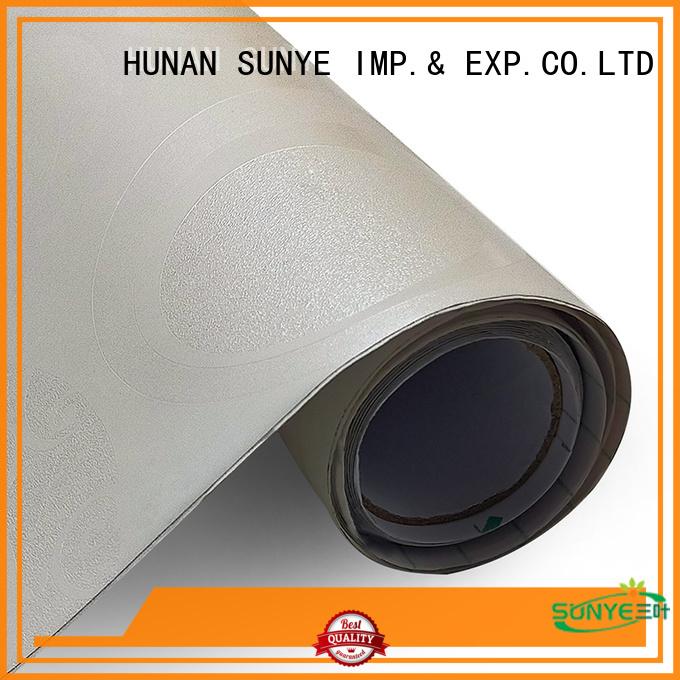SUNYE textured self adhesive wallpaper directly sale bulk production