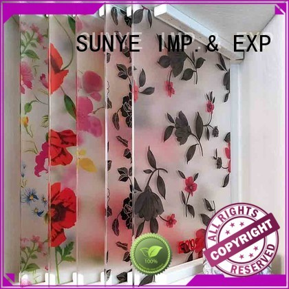 SUNYE best self adhesive window film speed canteen