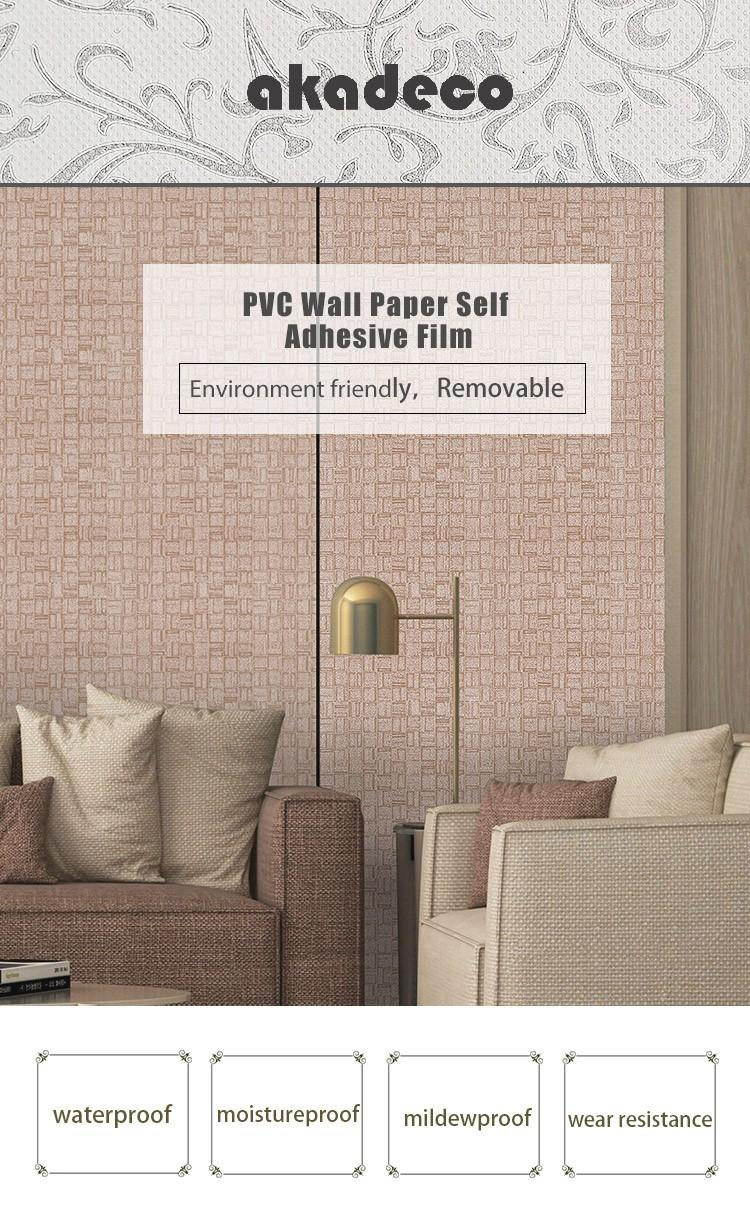 SUNYE pvc wall papers best supplier for market-2