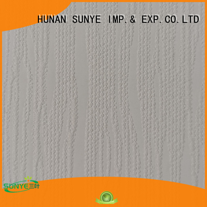 SUNYE popular hp pvc wallpaper factory direct supply bulk production