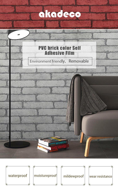 SUNYE brick wall vinyl with good price bulk buy-1