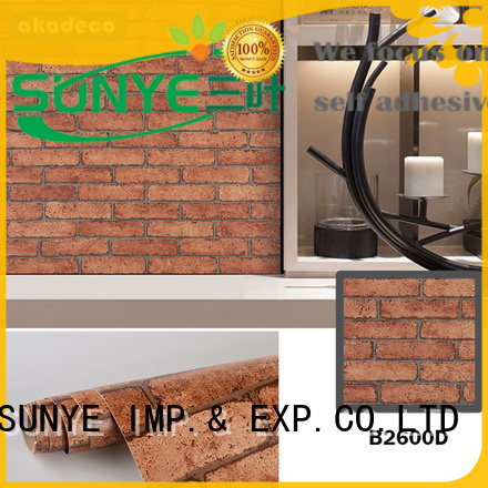 SUNYE popular contact paper wallpaper factory direct supply for shower (room)