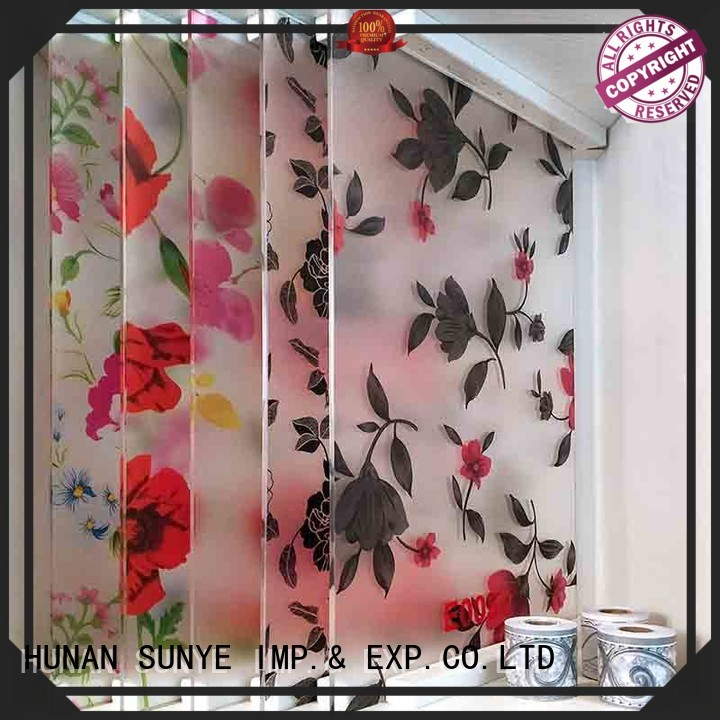 SUNYE nice window protection film adhesive hall